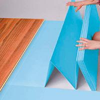 Подложка-гармошка Solid под ламинат (синяя)