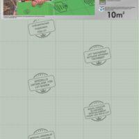 Подложка листовая Solid под LVT (зеленая)